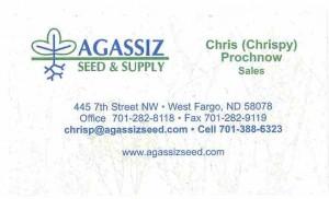 Agassiz Seed